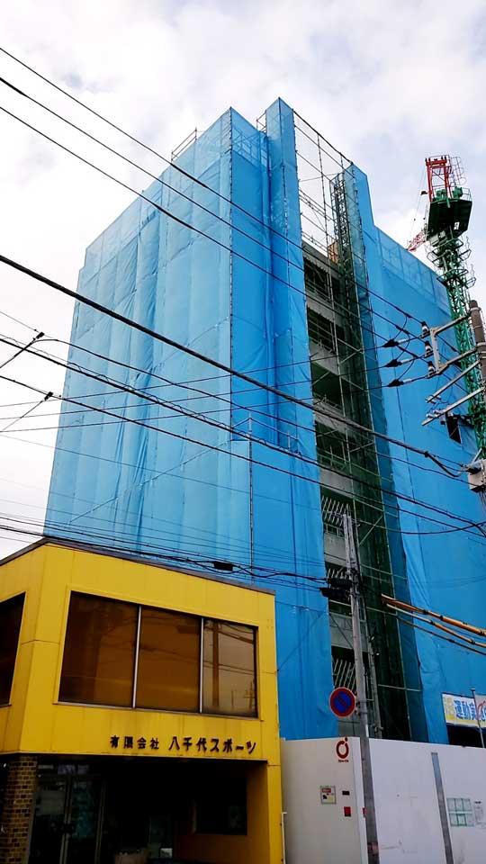 八千代台9階建てマンション新築工事02